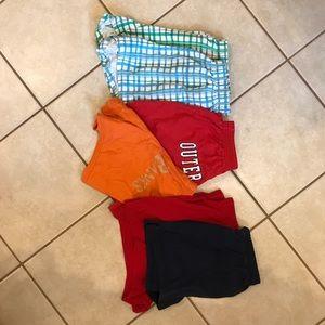 Lot of 6 junior shorts